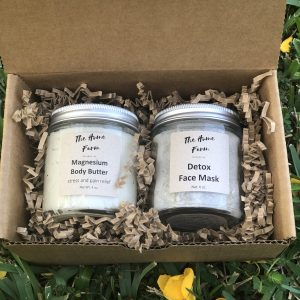 Body Butter & Face Mask Gift Set