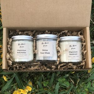 Body Butter & Face Mask & Deodorant Gift Set