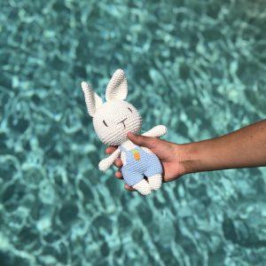 Bunny Amigurumi Eco Christmas Gift