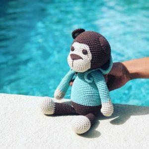 Monkey Amigurumi Eco Christmas Gift