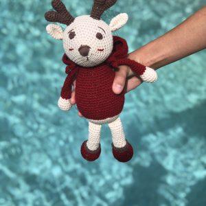 Reindeer Amigurumi Eco Christmas Gift